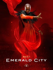 Florence Kasumba in Emerald City