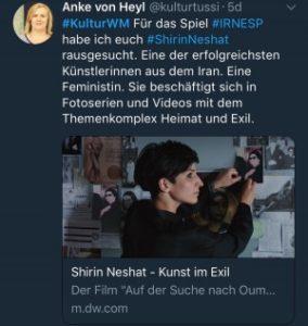 #IRN - #KulturWM